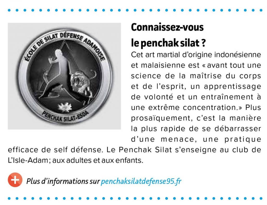 Article magazine Val d'oise